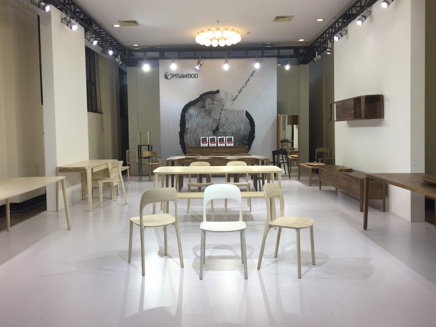 MSWOOD Presents Award Winning Collections at Design Shanghai 2017