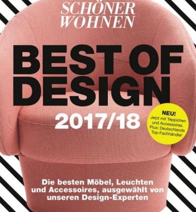"""Das Buch der Besten: SCHÖNER WOHNEN """"Best of Design 2017/2018"""""""