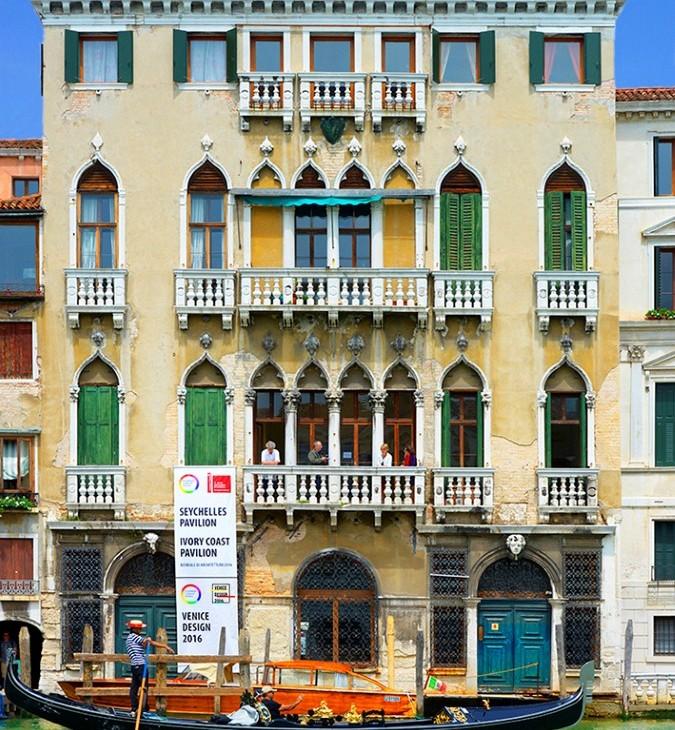 MS&WOOD at Palazzo Michiel - 3D View