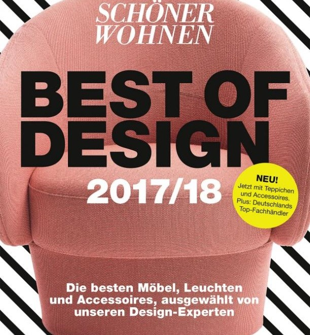 das buch der besten sch ner wohnen best of design 2017 2018 ms wood. Black Bedroom Furniture Sets. Home Design Ideas