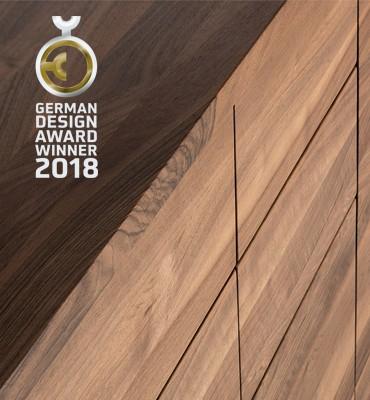German Design Award 2018 - WINNER