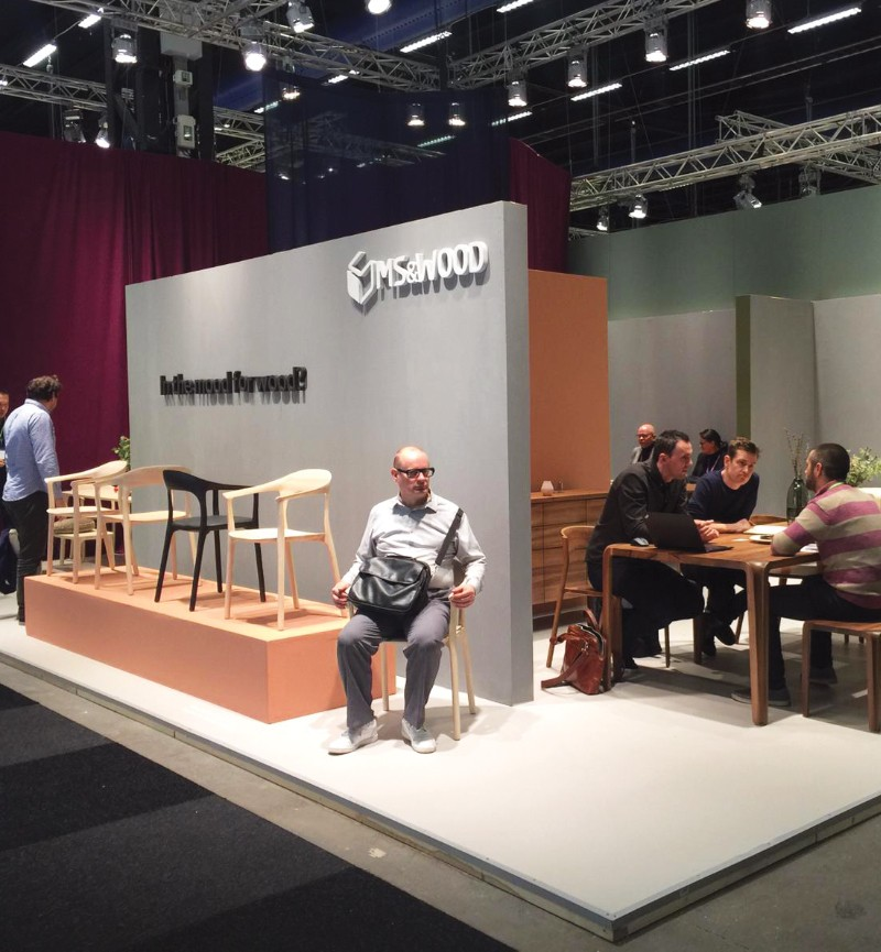 MS&WOOD was @ Stockholm Furniture and Light Fair (5-9 February 2019)