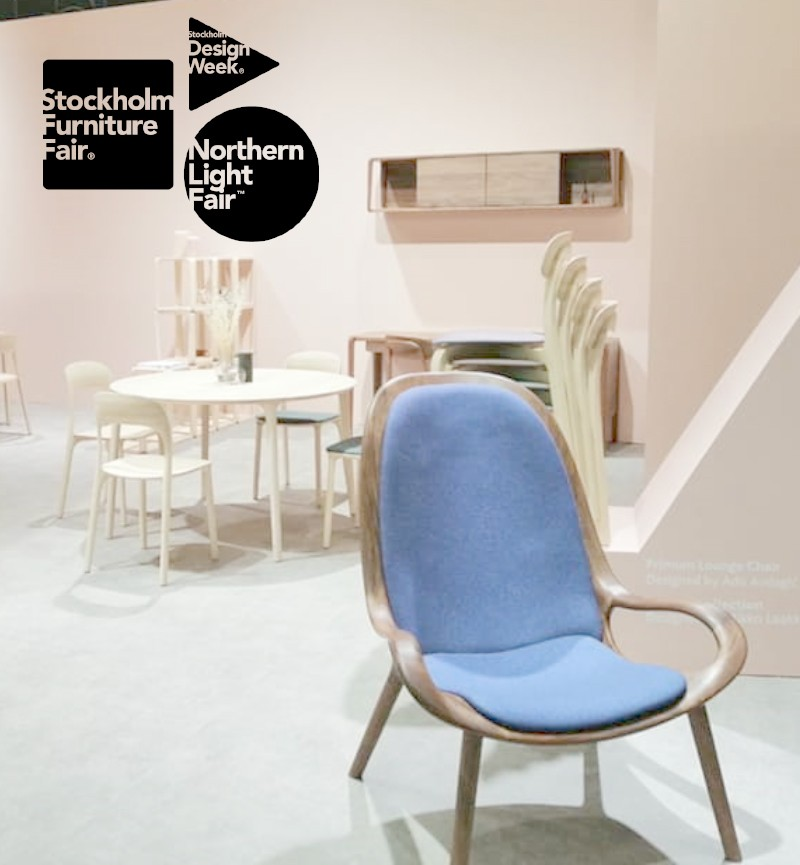 "MS&WOOD was @ ""Stockholm Furniture and Light Fair"" (4-8 February 2020)"