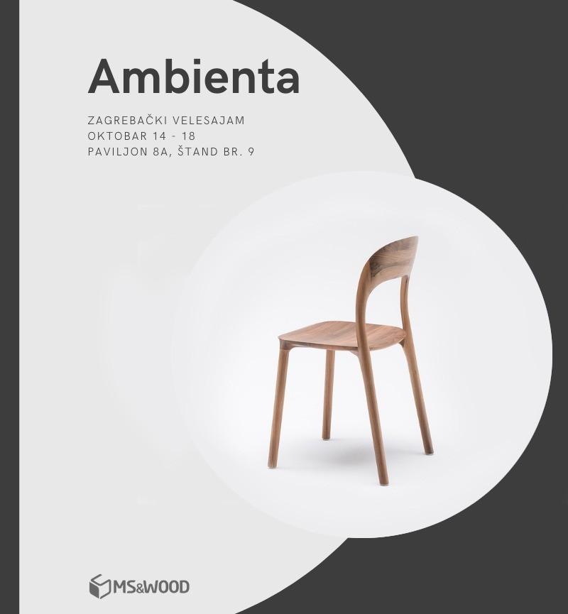 MS&WOOD@AMBIENTA ZAGREB (14-18 OCTOBER 2020)